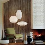 BVH Bubble Lamp Cigar Pendant Small george nelson Design