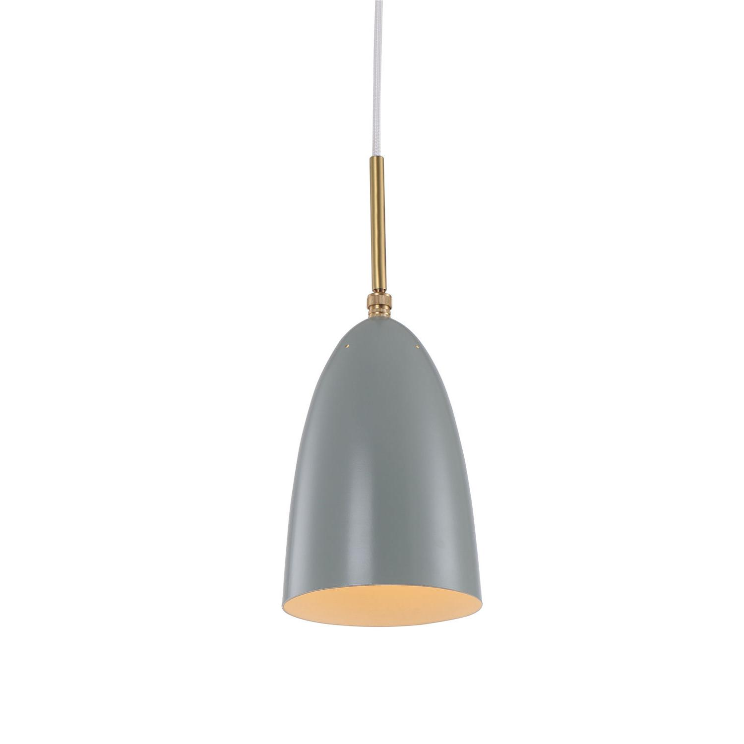 Grashopper pendant lamp Greta M. Grossman Design 8264S-Green gray