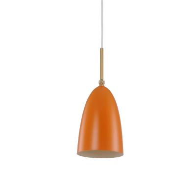 Grashopper pendant lamp Greta M. Grossman Design 8264S-Orange