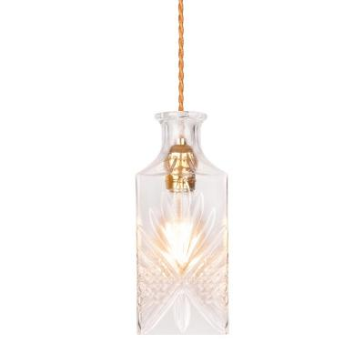 Decanter Lights Cognac Decanter Hanging Light - Clear-8601S