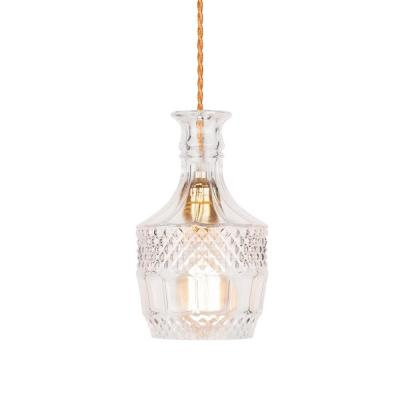 Decanter Lights Brandy Decanter Hanging Light - Clear-8603S