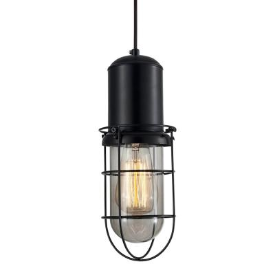 Portside Caged Pendant Light -...
