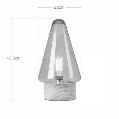 Forest Mushroom Cone Table Lamp -8616T